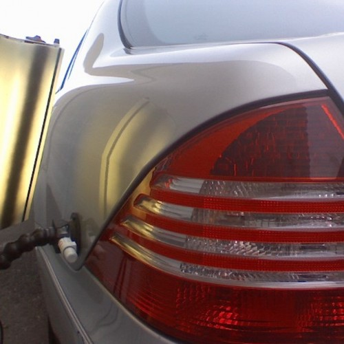 Mercedes Benz Quarter Panel-after
